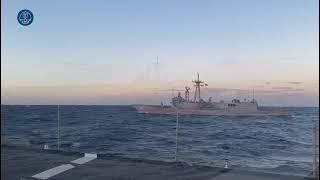 Frigate F84 'Reina Sofía' returning from Operation 'Atalanta'