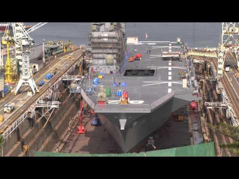 M120320A 海上自衛隊 呉基地 護衛艦『さみだれ』出港