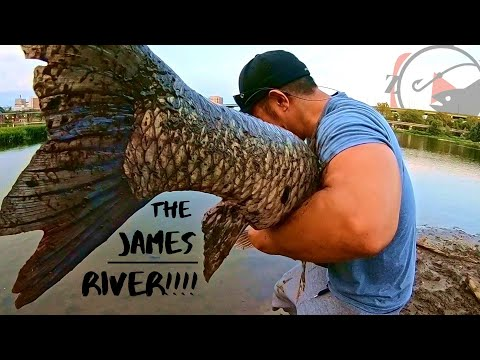 Fishing The JAMES River!! (NEVER Goes As PLANNED!)
