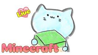 【#Minecraft】まったりサバイバル!猫さんのマイクラJavaEdition Part.4【アオイネコ / Vtuber】