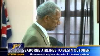 SEABORNE AIRLINES TO BEGIN OCTOBER