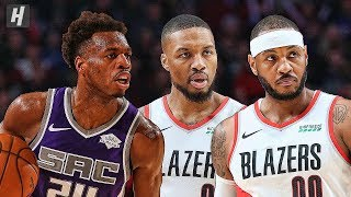Sacramento Kings vs Portland Trail Blazers - Full Game Highlights | December 4 | 2019-20 NBA Season Video