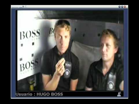Live call with Andy & Wouter onboard HUGO BOSS 7th April