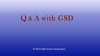 Q & A with GSD 012 Eng/Hin/Punj