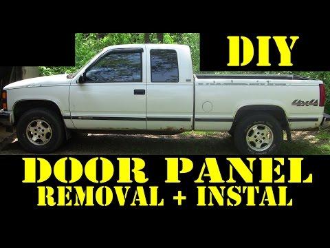1995 Chevrolet K1500 4×4 DIY door panel removal and install