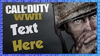 Free Call of Duty WWII Thumbnail | Thumbnail #1