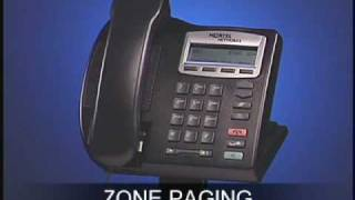 Nortel 2001 Zone Paging