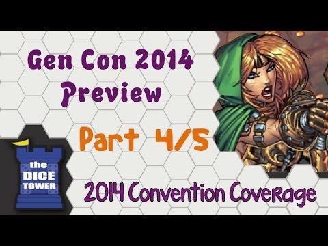 Gen Con 2014 Preview - Part 4/5