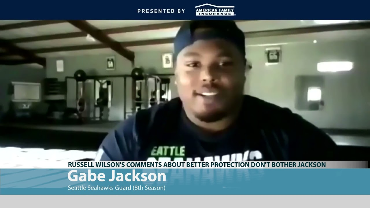 Gabe Jackson on Russell Wilson's Comments 2021-04-01