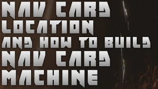 Black Ops 2 Zombies Tranzit : Nav Card Location And How To Build Nav Card Machine
