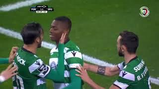 Golo de Rafael Leão : FC Porto 1-(1) Sporting (Liga 25ªJ)