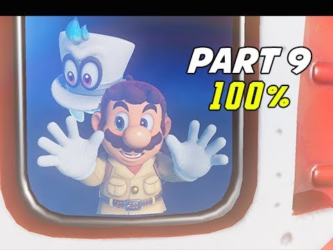SUPER MARIO ODYSSEY Walkthrough Part 9 - 100% Lost Kingdom (Let's Play Commentary)