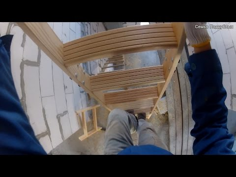 0 - Установка горищних сходів