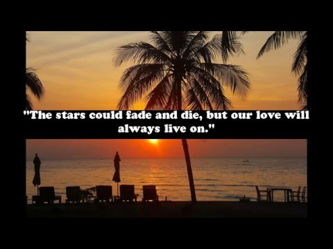 Cute quotes about love and stars