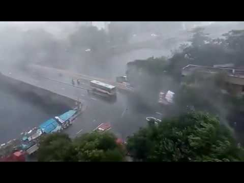 Chennai tufan live