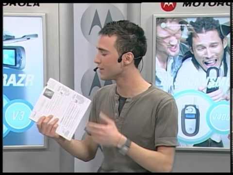 Number 1 TV  23 Mart 2005 Hello Moto Programı Esra Balamir