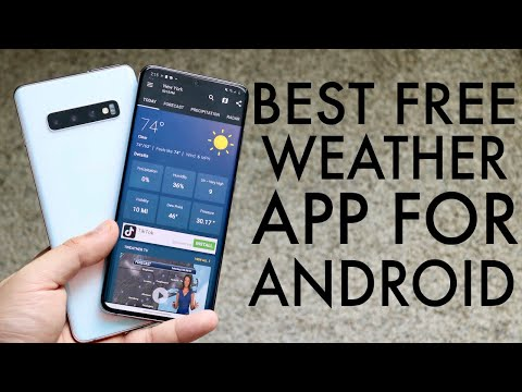 BEST FREE Weather Apps For Android! (2020)