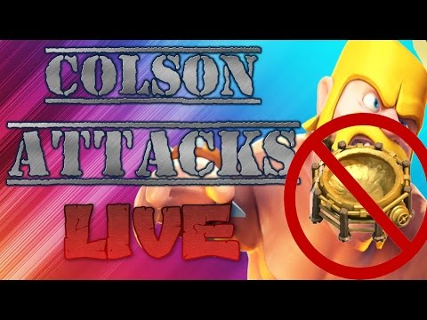 CLAN WARS LIVE ATTACK!