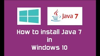 Java 7 (Oracle JDK 7) installation in Windows 10 | Java SE 7 Update 80