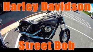 Обзор - Тест драйв: 2016 Harley Davidson Street Bob Обзор мотоцикла(Тест драйв мини-обзор мотоцикла 2016 Harley Davidson Street Bob (Харлей Девидсон Стрит Боб). Продолжаем серию обзоров..., 2016-08-25T01:29:36.000Z)