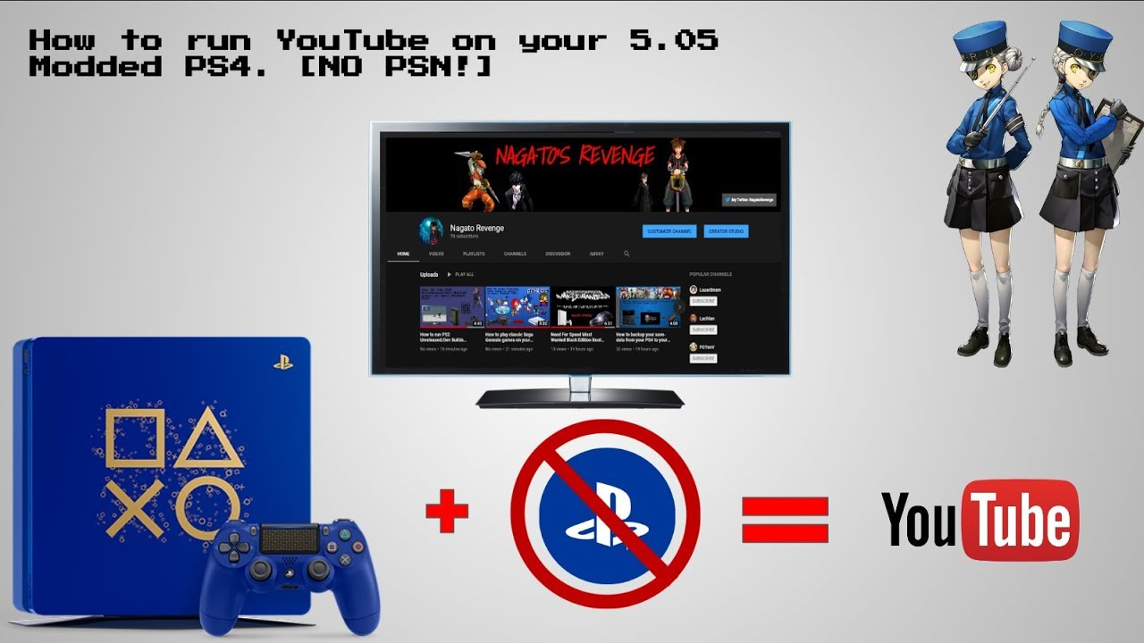 YouTube Application NoPSN PKGs for PS4 Now Available | PSXHAX - PSXHACKS