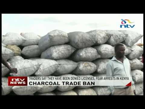 Traders importing charcoal from Uganda stranded at the border in Busia