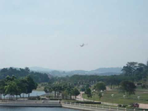 Malaysian Maritime Enforcement Agency Bombardier 415MP Forest fires bomers