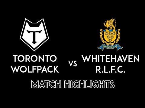Whitehaven v Toronto Highlights