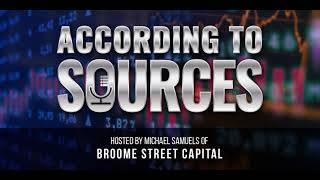 According to Sources Podcast | Interview With Bloomberg M&A Reporter Ed Hammond/My Thoughts on IDTI