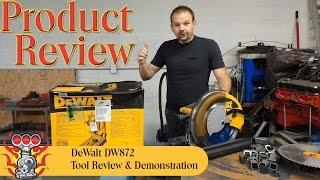 Dewalt Dry Cut Saw DW872 Reveiw & Demonstration