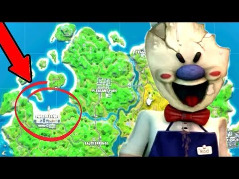Rod Ice Cream Man FOUND In Fortnite Battle Royale! (Chapter 2)