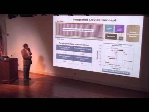 Next Generation Energy Storage for Integration with Sensors and Power Generation, James Evans