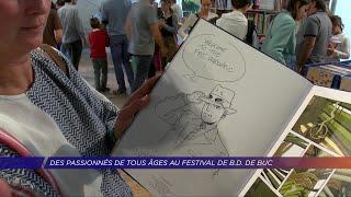 Yvelines | Des passionnés de tous les âges au festival de B.D de Buc