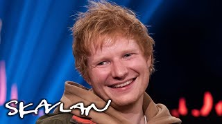 Ed Sheeran reveals awkward proposal to his wife   SVT/TV 2/Skavlan