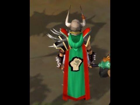RuneScape 3 - Achieving 99 Strength! *2nd 99*