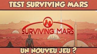 TEST & DÉCOUVERTE DE SURVIVING MARS ! ✔