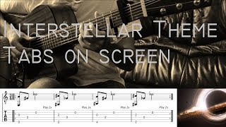 Interstellar Theme Fingerstyle Guitar Cover with tabs on screen.mp3
