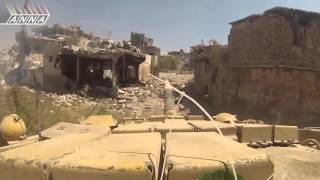 Русские танки в Сирии,война с боевиками ИГИЛ