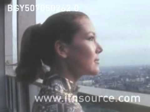 ITN Archive: Diana Rigg named leading James Bond role 1968