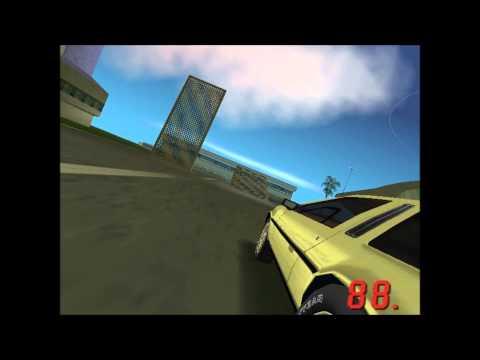 The Gold DeLorean - GTA: Vice City
