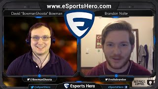 ESH Café: Eps 9 - Growing eSports through Passion w/ Brandon Nolte [excerpt]