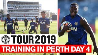Manchester United | Tour 2019 | Training In Perth Day 4 | Lingard, De Gea, Rashford
