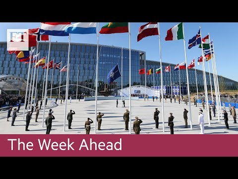 Nato ministers meet, EU Mexico trade talks