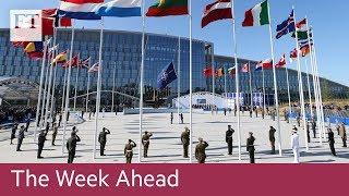 Nato ministers meet, EU Mexico trade talks