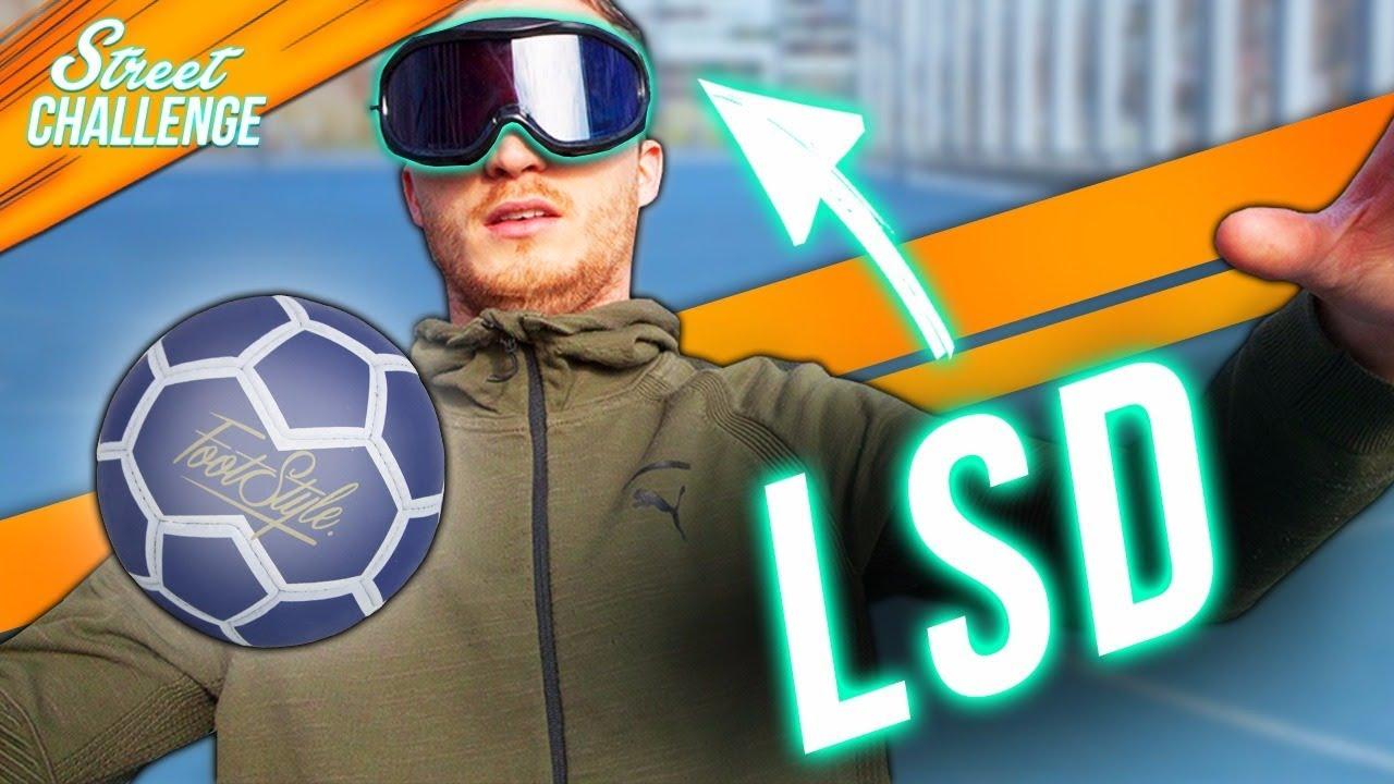 FOOTBALL SOUS LES EFFETS DU LSD !!