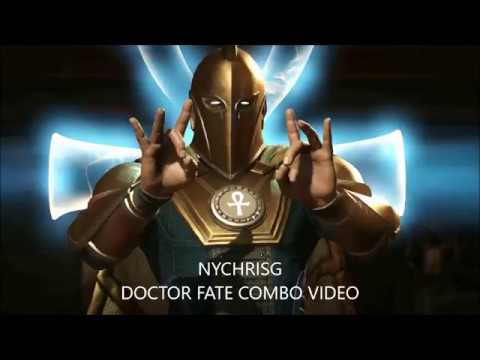 INJUSTICE 2 DOCTOR FATE COMBO VIDEO