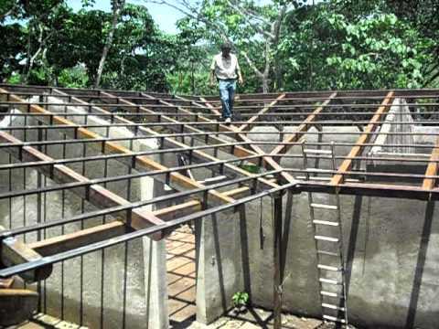 Techo interior youtube - Estructuras de madera para techos ...