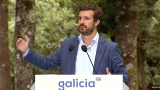 """Casado promete """"darle la vuelta a España como a un calcetín"""""""
