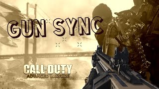 GUN MONTAGE SYNC MUSIC | NOISESTORM - BREAKDOWN VIP | CALL OF DUTY AW |