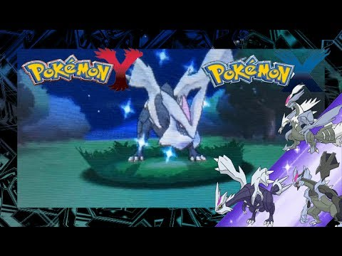 Pokemon x and y shiny kyurem and black white forms youtube - Pokemon kyurem blanc ...